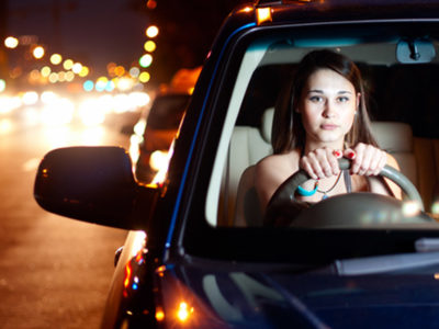 Driving safely on your own