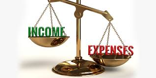 Maximise income, minimise expenditure
